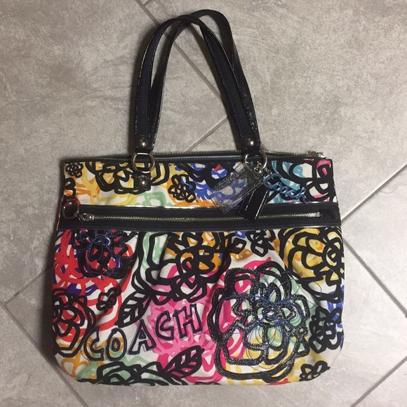 Coach bags poppy limited edition blossom flower purse poshmark coach poppy limited edition blossom flower purse mightylinksfo